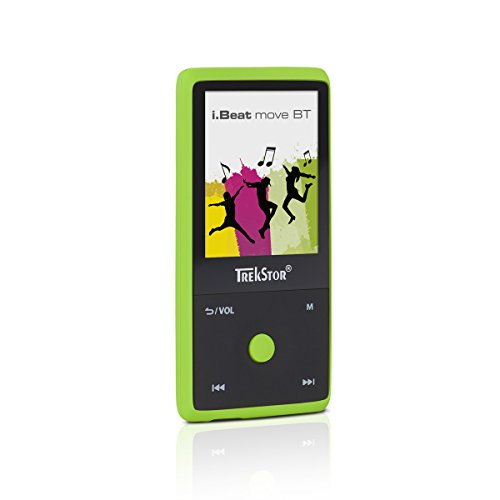 TrekStor i.Beat move BT (MP3-Player), 1,8 Zoll Display, 8 GB Speicher, Bluetooth, grün