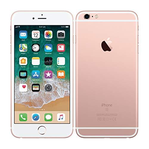"""Apple iPhone 6s Plus, 5,5\"""" Display, SIM-Free, 128 GB, 2015, Roségold (Generalüberholt)"""