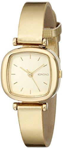 KOMONO Women's KOM-W1221 Moneypenny Metallic Series Analog Display Japanese Quartz Gold Watch image
