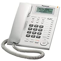 Panasonic KX-TS880 Integrated Corded Telephone, White