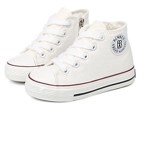 GZYIBU , Jungen Sneaker Weiß