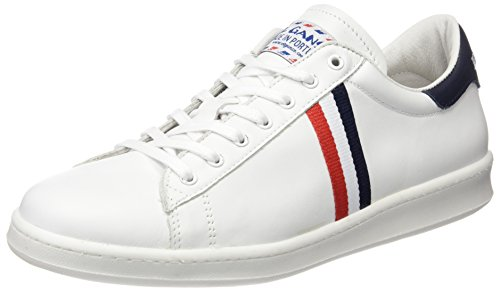 El-Ganso-Low-Top-Blanca-Bandera-Francia-Zapatillas-Unisex-adulto