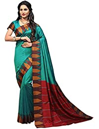 Craftsvilla Silk Saree With Blouse Piece (MCRAF71563620650_Blue_Free Size)
