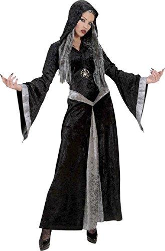 Halloween Hexen-Kostüm Dunkle Zauberin für (Dunkle Kostüme Hexe)