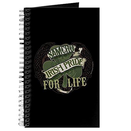 CafePress–SOA Irish Pride für Life–Spiralbindung Journal Notebook, persönliches Tagebuch, Dot (Patricks Beste Tag St Shirts)