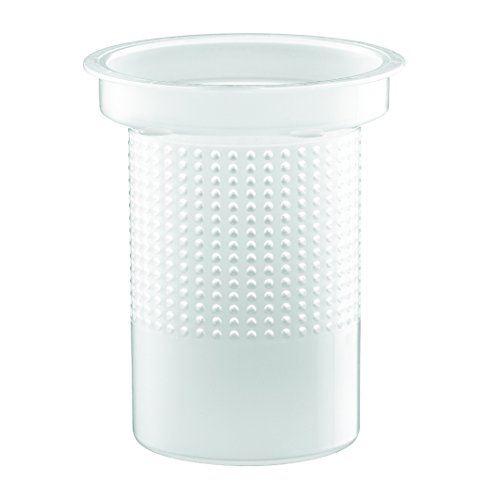 Bodum Component Kunststofffilter zu Teebereiter 1.0l, 1830, 1844, 1864, 1874, 1270, 1880, Transparent, 01-1830-10-212PP