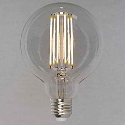Dimmable Vintage LED Edison Light Bulb 6w (60w) - Squirrel Cage Globe 95mm ES E27 - The Retro Boutique ® by The Retro Boutique