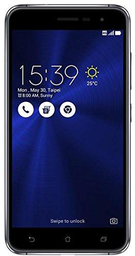 Asus ZenFone 3 (ZE552KL) Dual-SIM Smartphone (5,5 Zoll (14 cm) Full-HD Touch-Display, 64GB Speicher, Android 6.0) schwarz