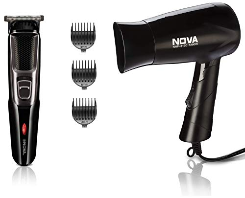 Nova Trimmer (NHT 1076) & Dryer (NHP 8100) Combo