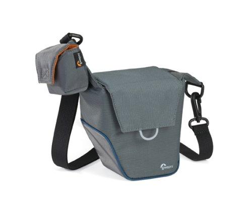 Lowepro Compact Courier 70 S Kameratasche für Systemkameras grau/blau -