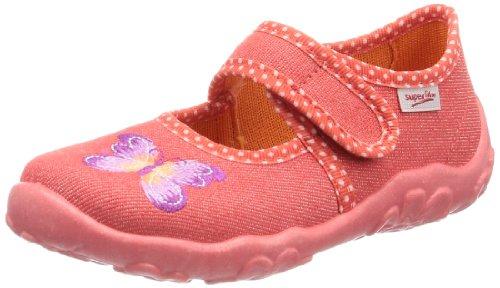 Superfit Bonny 00028254, Mädchen Hausschuhe Orange (Coral Kombi )