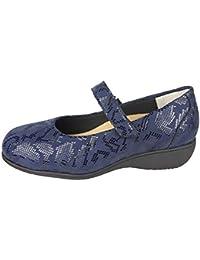 CARI FALCÓ -Zapato Mujer Ancho Especial para pies Muy delicados. Ancho 14. Tiene