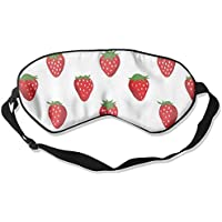 Red Strawberry Seamless Art Sleep Eyes Masks - Comfortable Sleeping Mask Eye Cover For Travelling Night Noon Nap... preisvergleich bei billige-tabletten.eu
