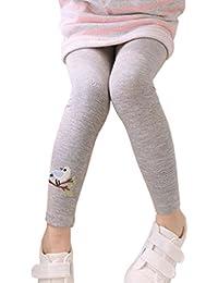 6 Farben Schöne Baby Kinder Mädchen Baumwolle Hosen Stickerei Vogel Warme Stretchy Leggings Hosen Mutter & Kinder Mädchen Kleidung