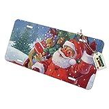 Graph & More Schminkschild für Weihnachten, Weihnachtsmann, Schlitten, fertig zum Fahren, Metall