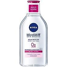 NIVEA Agua Micelar para Piel Seca y Sensible - 400 ml - 6 unidades