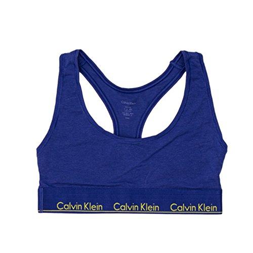 Calvin Klein Underwear REGGISENO DONNA UNLINED BRALETTE F3785E m azzurro