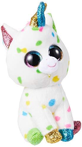 """Beanie Boo Unicorn - Harmonie - Colourful -  15cm 6"""""""