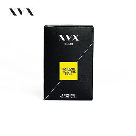 XVX CIGAR Nachfüllpatrone \ Elektronische Zigarre Nachfüllkartusche \ Banane Geschmack
