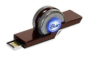 Blue Microphones Tiki Cardioid Dual-Mode Compact USB Condenser Microphone