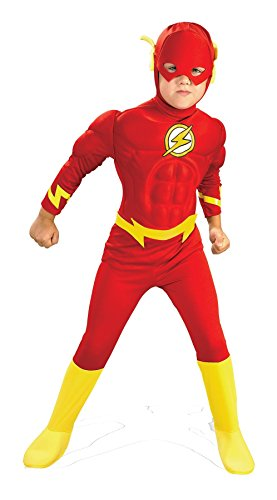 Herren Deluxe The Flash Rubine Offizielle DC Comics -