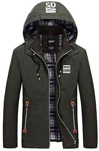 JZWXX - Blouson - Blouson - Homme UK1323 Army Green
