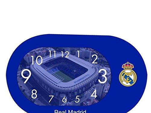 SEVA IMPORT Real Madrid Wecker Oval, Blau, Einzige