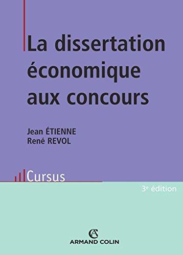 La dissertation économique aux concours