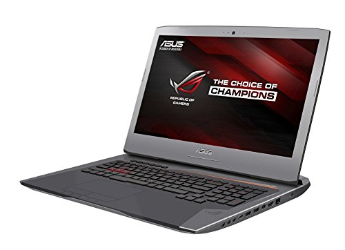 Asus ROG G752VS(KBL)-BA343T PC portable Gamer 17'' Full HD Gris métal (Intel Core i7, 8 Go de RAM,  Disque dur 1 To + SSD 256 Go, Nvidia GTX 1070 8G, Windows 10, Garantie 2 ans)