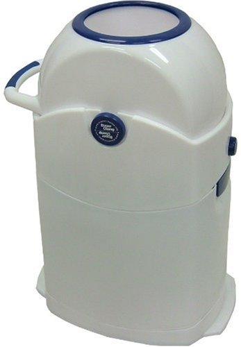 Geruchsdichter Windeleimer Diaper Champ regular blau – für normale Müllbeutel - 5
