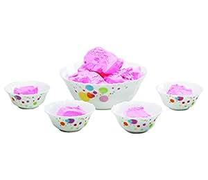 Larah 5 Pcs Pudding Set - White
