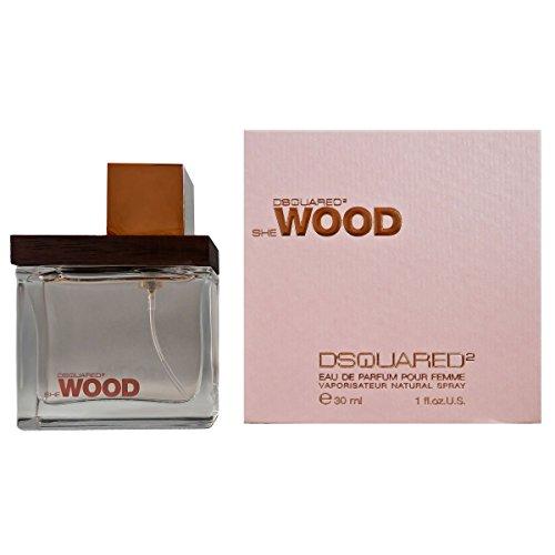 Dsquared She Wood femme/woman, Eau de Parfum Vaporisateur, 1er Pack (1 x 30 ml)