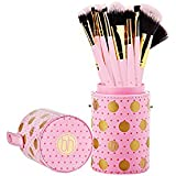 BH Cosmetics Pink a Dot Brush 11 Piece Set