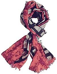 73dd3c0001951 Season's Sale Original 100% Pure Pashmina Kashmiri Woolen Printed Scarf for  Women or Men (