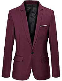 Amazon In Red Blazers Suits Blazers Clothing Accessories