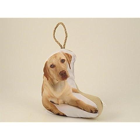 Fermaporta Cane Labrador 22X11.5X24 cm accessorio porta cuscino fermaporte cane