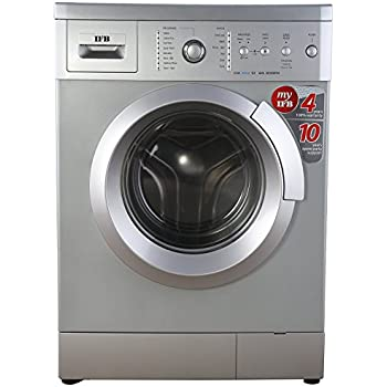IFB 6 kg Fully-Automatic Front Loading Washing Machine (Eva Aqua SX, Silver)