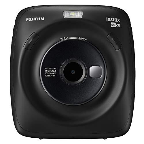 Foto Fujifilm Instax Square SQ20 Fotocamera Istantanea e Digitale con Micro SD,...