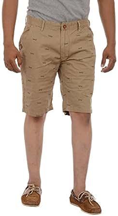 Short-O-Holic Men's Cotton Shorts (KM_38, Khaki, 38)