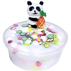 QUINTRA Slime Panda Perlen Slime Clay Sludge Spielzeug Kinder Erwachsene Stressabbau Plastilin Spielzeug Geschenk