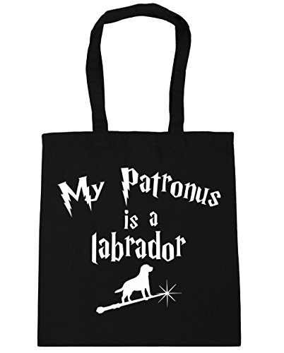 hippowarehouse-my-patronus-is-a-labrador-tote-shopping-gym-beach-bag-42cm-x38cm-10-litres