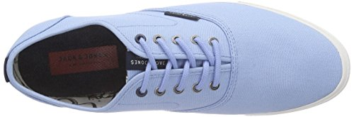 JACK & JONES Herren Jjspider Canvas Sneaker Low-Top Blau (Blue Bell)