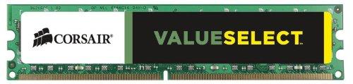 Corsair Value Select - Módulo de Memoria Principal de 4 GB (1 x 4 GB, DDR3, 1600 MHz, CL11) (CMV4GX3M1A1600C11)