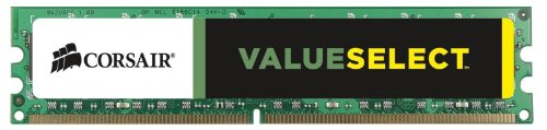 Corsair CMV4GX3M1A1600C11 Value Select 4GB (1x4GB) DDR3 1600 Mhz CL11 Standard Desktop Memory