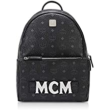 MCM Mujer MMK8AVE72BK001 Negro Tela Mochila