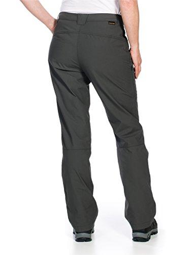 Jack Wolfskin Rainfall Pantalon imperméable pour femme Gris - Acier foncé
