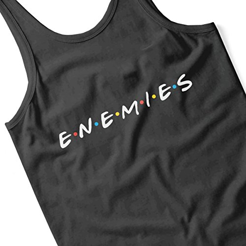 Friends Enemies Women's Vest Black