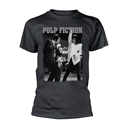 Pulp Fiction Official Licensed Men's Dancing Crew Neck T-Shirt | Sizes S-XXL