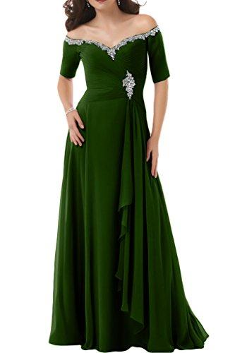 Ivydressing - Robe - Trapèze - Femme - Vert olive