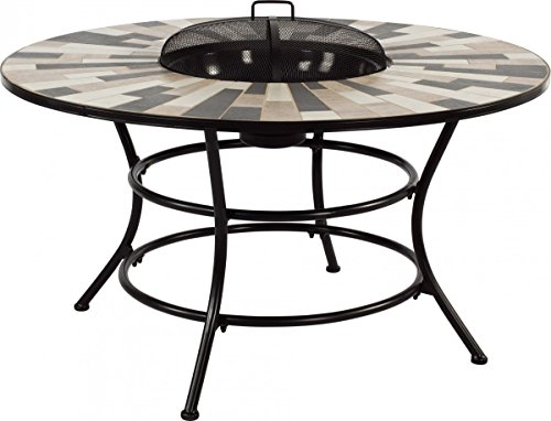Attraktiv Dreams4Home Gartentisch U0027Lukeu0027   Tisch Mit Feuerstelle, Tisch Mit  Grillfunktion, Gartentisch,